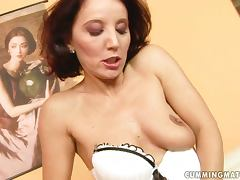 Majestic MILF Tries Her Daughter's Dildo Out tube porn video