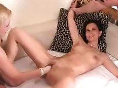 Stunning Silvia Black gets fisted deep by pretty blonde