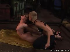 Kinky Sinead dominates adorable Rebecca Contreras