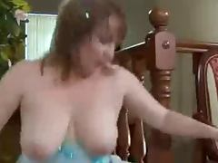 Busty Mom and NOT her Son porn tube video