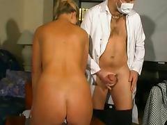 chez le gyneco pour une jolie MILF francaise tube porn video