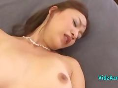 Asian Girl Licked Sucking Guy In 69 Riding On Him On The Bed