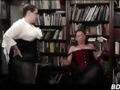 Mature Lesbian Domestic Discipline tube porn video