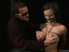 Estella the New Slave Girl gets fucked hard in her vagina