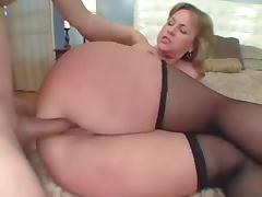 Blonde, Ass, Assfucking, Blonde, Couple, Mature