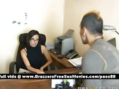 An angry guy goes to an office porn tube video