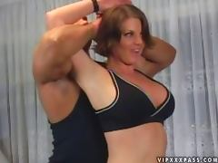 Big Titty Slut Rides a Fat Cock