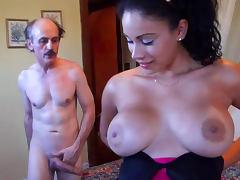 Bedroom, Babe, Bedroom, Big Tits, Blowjob, Boobs