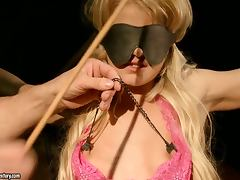 Pretty and nice Bianka Lovely in hot BDSM video