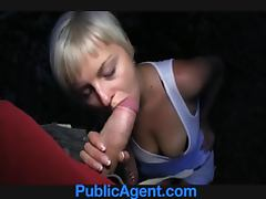 This is a hot amateur POV scene with a sexy blondie