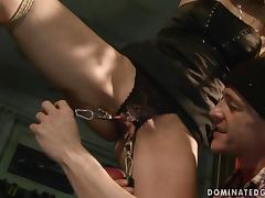 Cindy Hope loves to be dominated in hot BDSM videos porn tube video