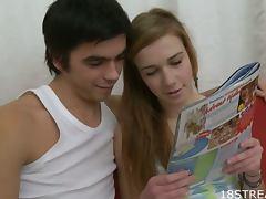 Cute Couple Having Sex