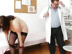 Big breasted matured ob gyn exam porn tube video