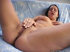 Squirt with Trista Tanner on that huge cock