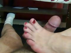 Ania Sweet Footjob