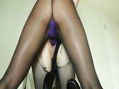 Secret glamours sucking strap on dildo