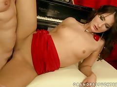 Bailee gets her pussy licked and pounded in every position