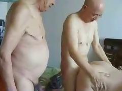 Japanese Grandpas and grandma tube porn video