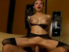 brutal anal loving with busty asian girl