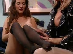 Pantyhose tube porn video