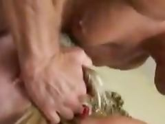 Cock hungry Leah Luv gets fucked deep in her mouth