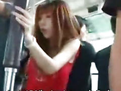 Fucked in public bus