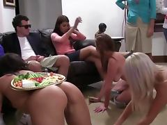Sorority lesbians lick each other out tube porn video
