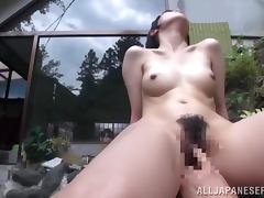 Outdoor Bathing Teen Sucks And Fucks While Being Watched