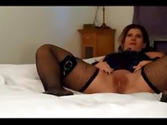Curvy milf spanked and creampied
