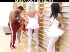 Banging, Banging, Gangbang, Group, Orgy, Ballerina