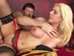 Bedroom, Babe, Bedroom, Blonde, Blowjob, Doggystyle