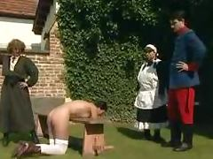 THis is an old school sexual delights in the garden porn tube video
