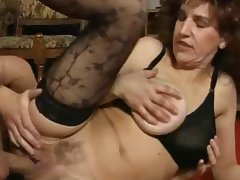 Aged, Aged, Creampie, European, German, Mature