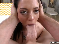 Melina Mason toys her tight ass and gets her vag amazingly pounded