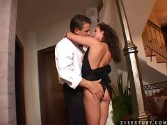 Judith Fox gets pounded hard after a boring meeting