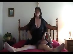 Hot Mature Dirty talking BBW Smoking and Riding porn tube video