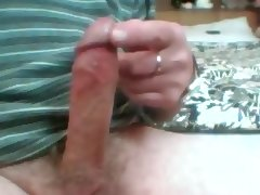 0ld man cock still pumping out cum