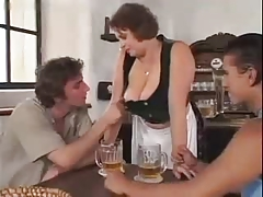 Beer Garden Gangbang porn tube video