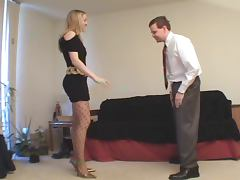 Crysta Pump and Heels Ballbusting tube porn video