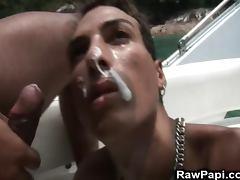 Latino Bareback Orgy porn tube video