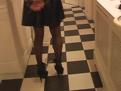 Chained, BDSM, Femdom, Latex, Stockings, Chained