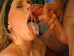 Bukkake, Blonde, Blowjob, Bukkake, Cum, Cute