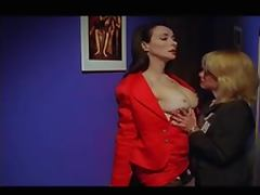 Linnea Quigley and Eileen Daly tube porn video