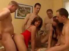 Some insane group sex with two juicy angels porn tube video