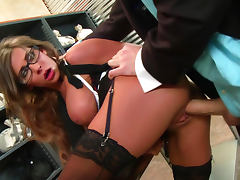 James Deen is fucking with slender beauty Madison Ivy