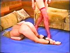 Alecia Ames Vs Brunette Catfight porn tube video