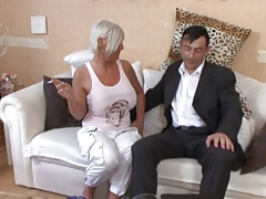 Slutty Mature Fucked On The Couch tube porn video