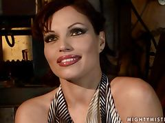 Szilvia Lauren gets her pussy fingered and toyed in amazing BDSM clip