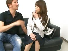 Japanese milf gets her vag fisted and fucked remarcably well