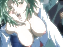 Busty hentai coed doggystyle wetpussy fucked